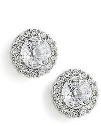 Nadri Crystal Pave Stud Earrings