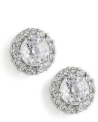 Nadri Crystal Pave Stud Earrings