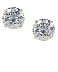 Jessica Simpson Crystal Stud Earrings