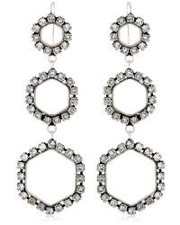 Isabel Marant Here It Is Crystal Earrings