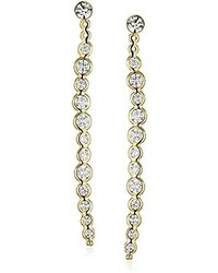Kate Spade New York Clear As Crystal Linear Earrings Jackets