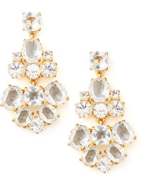 Kate Spade New York Crystal Chandelier Earrings Clear