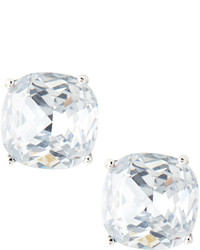 Kate Spade New York Small Square Stud Earrings Clear