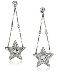 Nina Mailyn Swarovski Crystal Large Star Drop Earrings