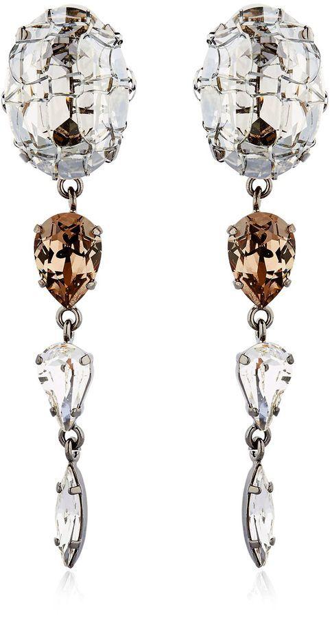 Rain Crystal Earrings
