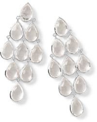 Ippolita Rock Candy Cascade Earrings In Clear Quartz