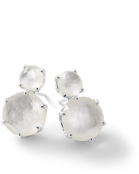 Ippolita Rock Candy Two Doublet Earrings In Clear Quartz Doublet