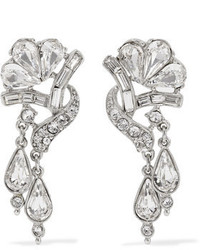 Ben-Amun Silver Plated Crystal Earrings