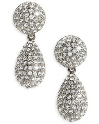 Teardrop crystal earrings medium 6458416