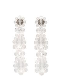 Simone Rocha Transparent Short Drop Earrings