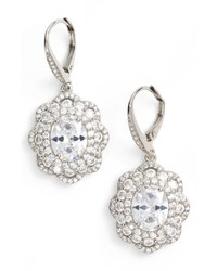 Vintage drop crystal earrings medium 6458414