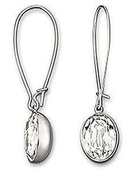 Swarovski Yellow Crystal Drop Earrings