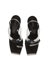 Alexander Wang Clear Shield Sandal