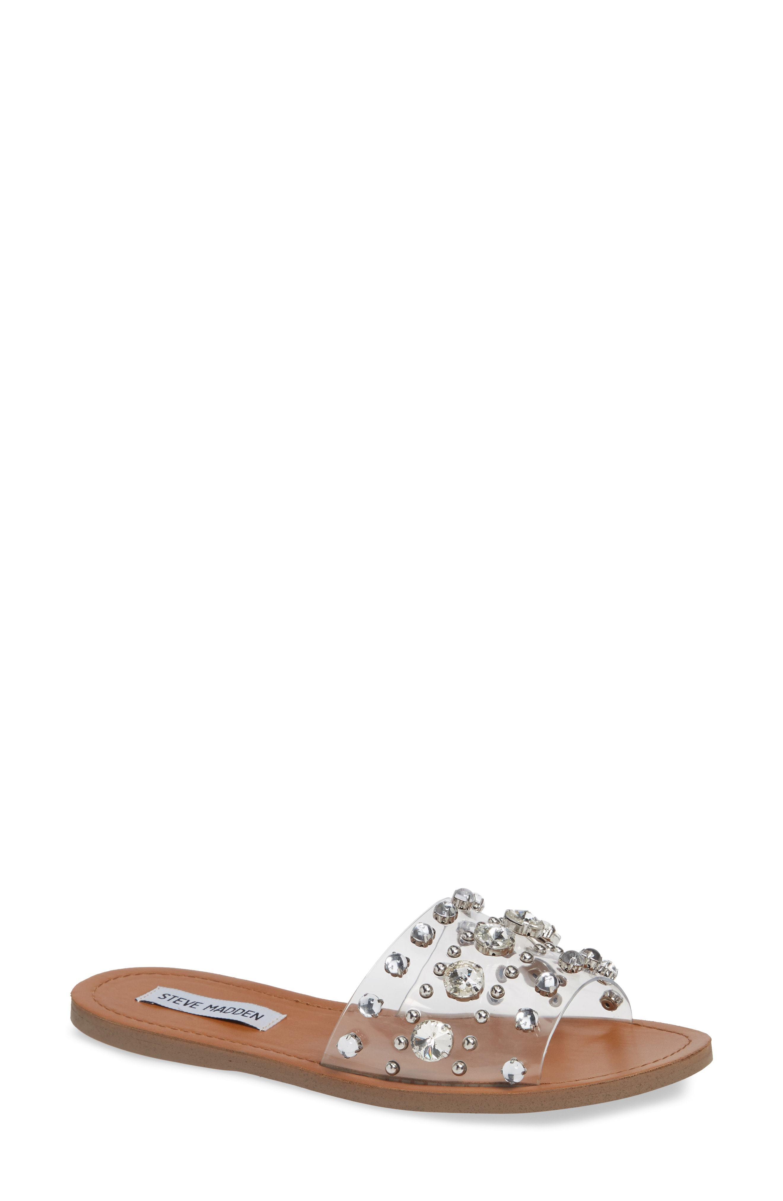 df14c9435ef ... Steve Madden Regent Embellished Slide Sandal