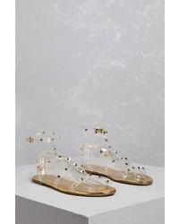 Studded jelly strap sandals medium 4730977