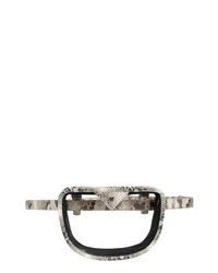 KELLY WYNNE Clear Brb Convertible Crossbody Belt Bag