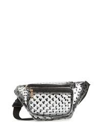 Jane & Berry Polka Dot Transparent Belt Bag