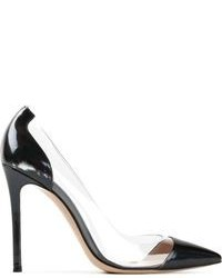 Gianvito Rossi Transparent Panel Pumps