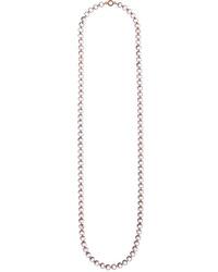 Marie Helene De Taillac 22 Karat Gold Quartz Necklace