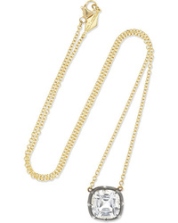 Fred Leighton Collection 18 Karat Gold Silver And Necklace
