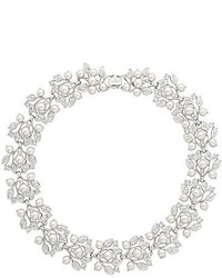 Nina Crystal Faux Pearl Statet Necklace