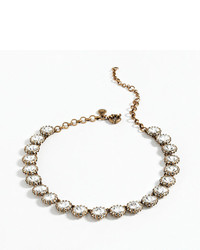 J.Crew Crystal Venus Flytrap Necklace