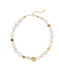 Chan Luu Gold Plated Pearl Necklace