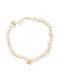 Alighieri The Infinite Light Gold Plated And Bead Necklace