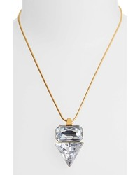 Vince Camuto Crystal Clear Pendant Necklace