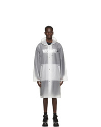 Vetements Transparent Limited Edition Raincoat