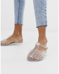 Glamorous Clear Jelly Shoes