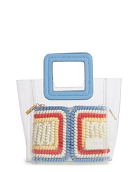 Staud Mini Shirley Telephone Transparent Handbag