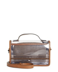 Brunello Cucinelli Monili Clear Shoulder Bag