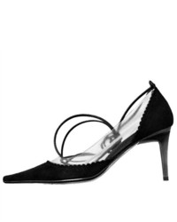 Ferretti 833 Camosci Suede Ankle Strap Pumps Shoes