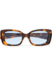 FLATLIST Eazy Rectangle Frame Tortoiseshell Acetate Sunglasses