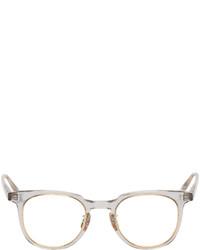 Yuichi Toyama Grey Gold Lax Sunglasses