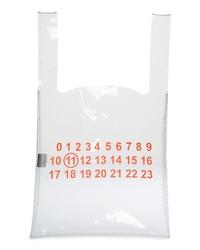 Maison Margiela Logo Pvc Shopper Bag