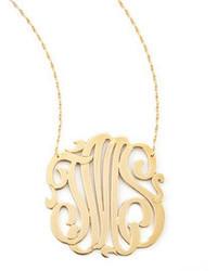Colgante dorado de Jennifer Zeuner Jewelry