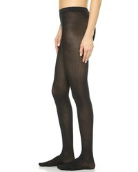 Collants en laine noirs Wolford