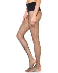 Collants résille noirs Commando