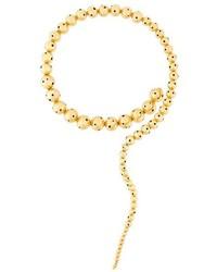Collar dorado de Paula Mendoza
