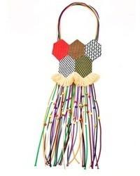 Collar en multicolor