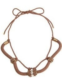 Collar marrón de Lanvin