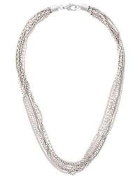 Collar Plateado de MM6 MAISON MARGIELA