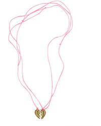 Collar rosado de J.Crew