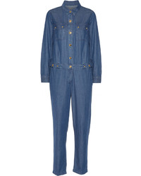 Combinaison pantalon en denim bleue marine MICHAEL Michael Kors