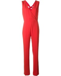 Combinaison pantalon rouge Tory Burch
