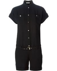 Combishort noir Versace