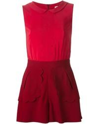 Combishort rouge RED Valentino