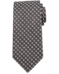 Corbata a lunares en gris oscuro de Tom Ford